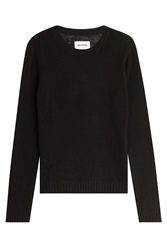Zadig And Voltaire Long Sleeved Wool Top Black