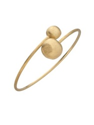 Marco Bicego Africa 18K Yellow Gold Ball Large Bypass Bracelet