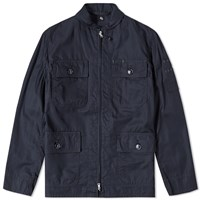 Kaptain Sunshine Summer Flight Jacket Blue