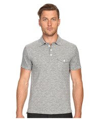 Todd Snyder Striped Polo Black Men's Clothing