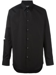 Dsquared2 Open Elbow Shirt Black
