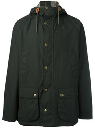 Barbour 'Bedale' Waterproof Hooded Jacket Green