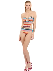 Lightning Bolt Gipsy Stretch Nylon Monokini Multi