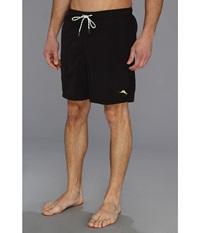 Tommy Bahama The Naples Happy Go Cargo 6 Swim Trunks Black Men's Swimwear