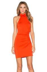 Rachel Pally Short Galene Dress Burnt Orange