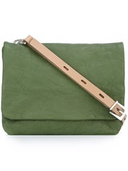 Ally Capellino Small 'Plum' Crossbody Bag Green