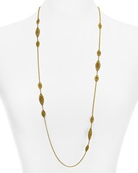 Miguel Ases Station Chain Necklace 31 Gold