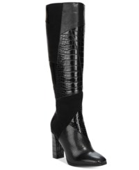 Impo Omega Patchwork Boots Women's Shoes Black