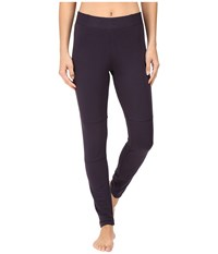 Midnight By Carole Hochman Lounge French Terry Leggings Slate Women's Pajama Metallic