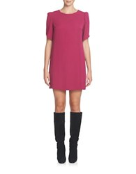 Cynthia Steffe Tulip Sleeve Shift Dress Wild Orchid