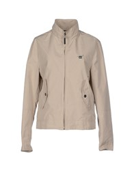 Henry Cotton's Coats And Jackets Jackets Women Beige