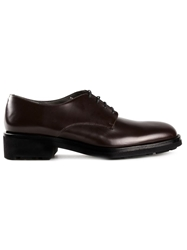 Robert Clergerie 'Robert' Derby Shoes Red