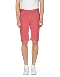 Roy Rogers Roy Roger's Choice Trousers Bermuda Shorts Men Coral