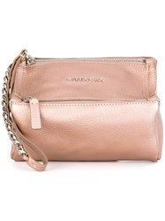 Givenchy 'Pandora' Clutch Pink And Purple
