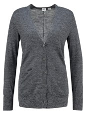Gap Cardigan Charcoal Heather Mottled Dark Grey