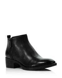 Kenneth Cole Levon Low Heel Booties Black