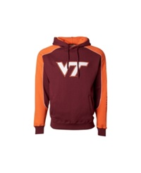 Colosseum Men's Virginia Tech Hokies Thriller Hoodie Maroon Orange