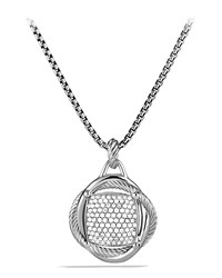 20Mm Pave Diamond Infinity Enhancer David Yurman