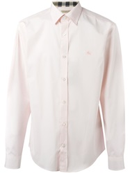 Burberry Brit Classic Shirt Pink And Purple