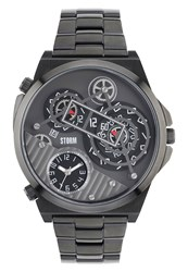 Storm Trimatic Titanium Watch Metallic