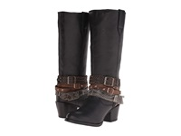 Durango Philly 14 W Detachable Ankle Straps Black Cowboy Boots