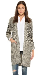 Essentiel Kountain Cardigan Black White