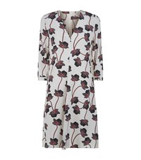 Dorothee Schumacher Unexpected Blossom Floral Silk Dress Female Multi