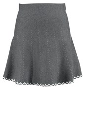 Molly Bracken Mini Skirt Grey