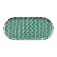 Pip Studio Spring To Life Rectangular Plate Green