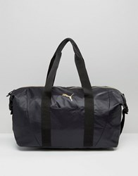 Puma Holdall Bag In Black Black