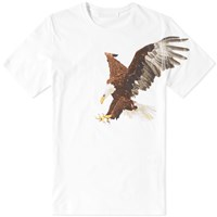 Neil Barrett Hawk Tee White