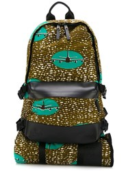 Eastpak 'Vlisco Bp Speed Plane 2' Backpack Green