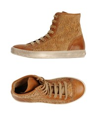 Twin Set Simona Barbieri Footwear High Tops And Trainers Women Brown