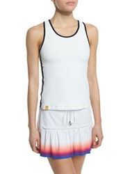 Monreal London Signature Performance Tank White Women's Size S