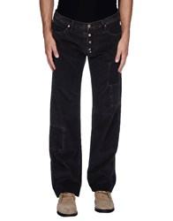 Frankie Morello Trousers Casual Trousers Men Steel Grey
