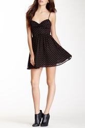 American Apparel Tie Back Dress Black