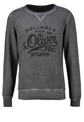 S.Oliver Sweatshirt Jet Set Grey