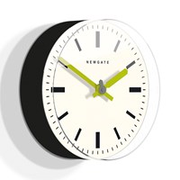 Newgate Clocks The Time Pill Ii Wall Clock Black