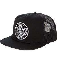 Obey Good Times Since 1989 Motif Trucker Cap Black