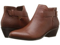 Dr. Scholl's Jonet Original Collection Cognac Leather Women's Shoes Brown