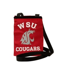 Little Earth Washington State Cougars Gameday Crossbody Bag Team Color