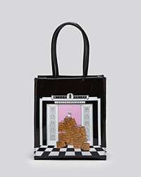 Bloomingdale's Tote Dog Elevator Small Multi