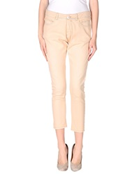 Twin Set Simona Barbieri Denim Pants Sand