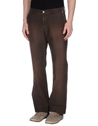 Replay Trousers Casual Trousers Men Cocoa