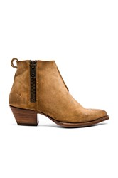 Frye Sacha Moto Shortie Brown