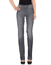 Escada Sport Denim Denim Trousers Women Grey