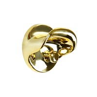 Kartell Metal Wall Hook Gold