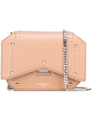 Givenchy Mini 'Bow Cut' Crossbody Bag Nude And Neutrals