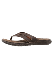 Pier One Flip Flops Brown Dark Brown