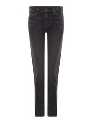 Levi's 505 High Rise Straight Leg Jean Black